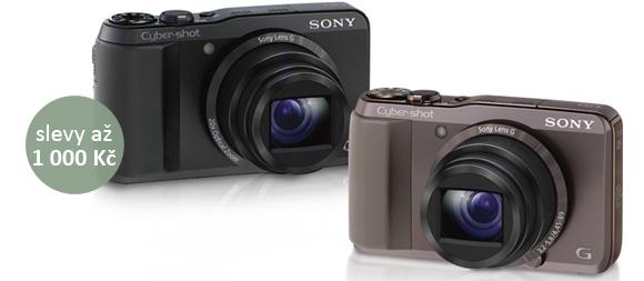 Výprodej kompaktních fotoaparátů Sony