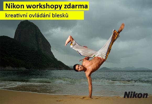 Workshop Nikon - kreativní ovládání blesků