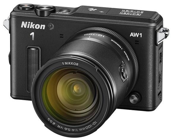 Nikon 1 AW1 - první vodotěsný digitál s výměnnými objektivy