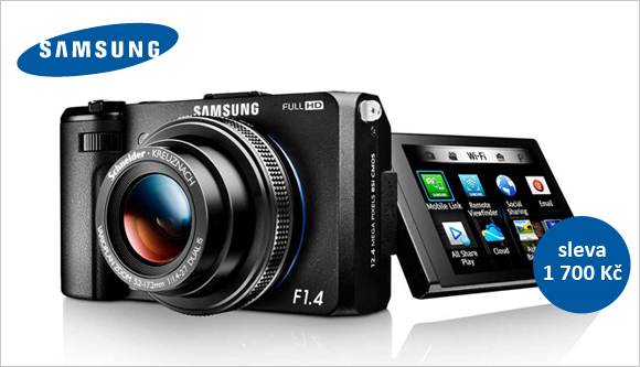 Samsung EX2F za výprodejovou cenu jen v Megapixelu