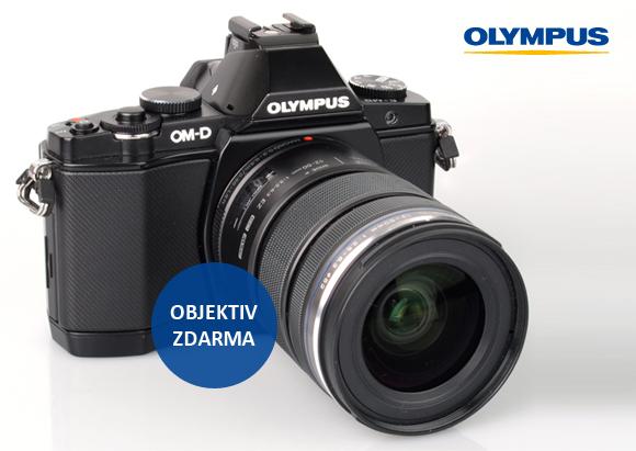 Portrétní objektiv zdarma k Olympus OM-D E-M5