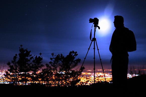 Vybavení pro focení v noci