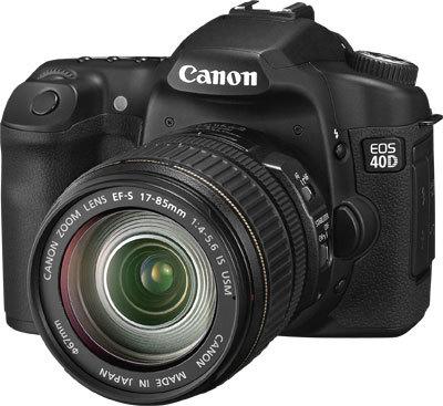 Canon EOS 40D a další novinky již skladem!