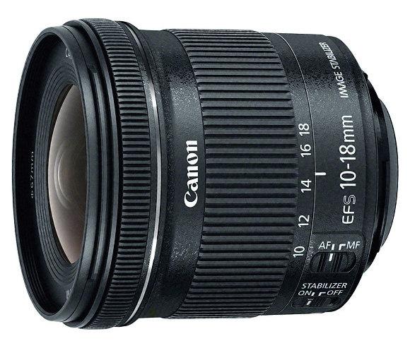 Canon EF-S 10-18mm f/4.5-5.6 IS STM - nový širokoúhlý objektiv skladem!