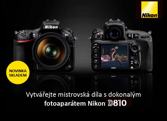 Nikon D810 je již v prodeji!