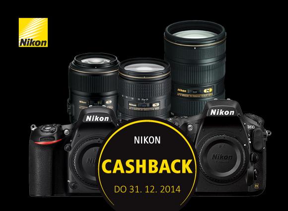 Zpětná sleva Nikon je tady. Ušetřete až 13 500 Kč!