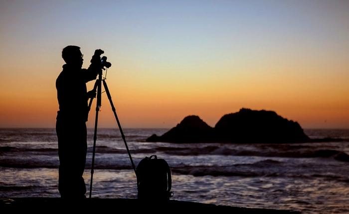 Vybavení pro krajinářskou fotografii - stativ