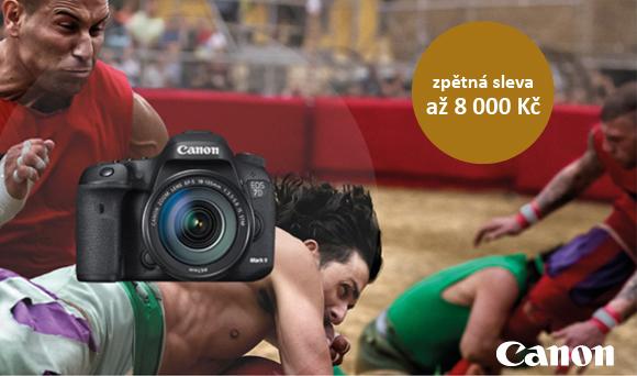 Ušetřete až 8 000 Kč při nákupu Canon EOS 7D Mk II a vybraných objektivů!