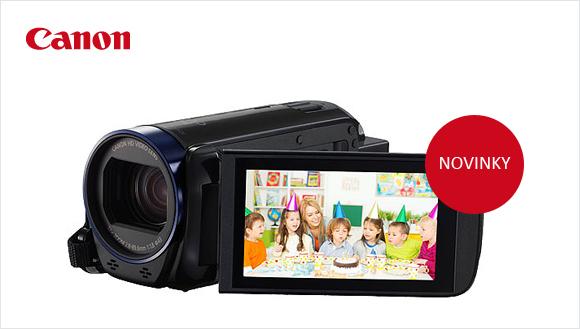 Canon představil nové kamery LEGRIA