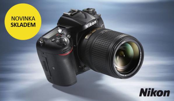 Nový Nikon D7200 je ode dneška skladem