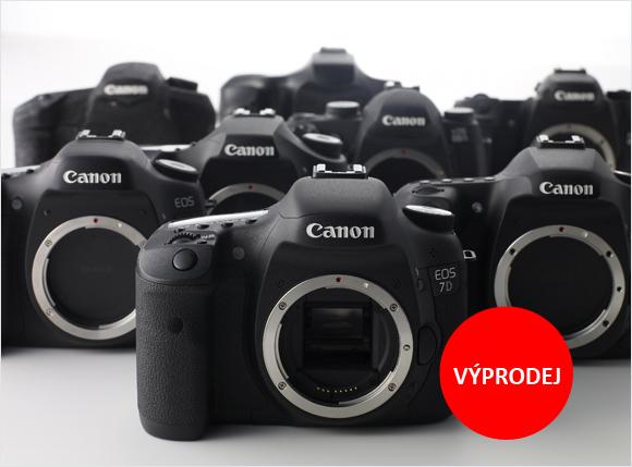 Získejte Canon EOS 7D a další fotoaparáty za výprodejovou cenu