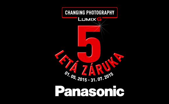 Prodloužená záruka 5 let na fotoaparáty Panasonic série G
