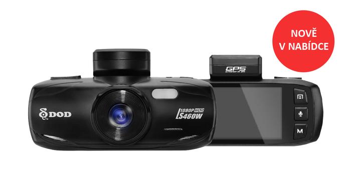 Výkonné autokamery DOD nově v naší nabídce