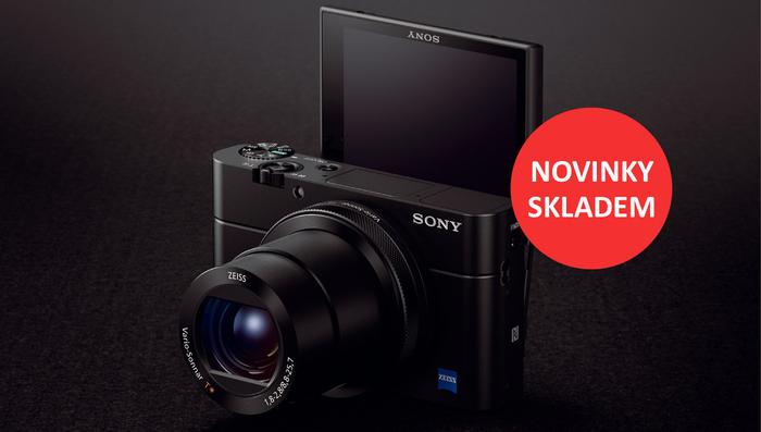 Novinky Sony DSC-RX10 II, RX100 IV a FE 90mm f2,8 Macro máme skladem