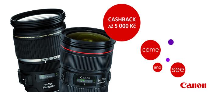 Začíná podzimní Cashback Canon