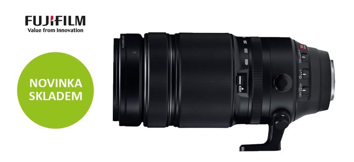 Naskladnili jsme nový teleobjektiv Fujifilm XF 100-400mm f/4,5-5,6 OIS