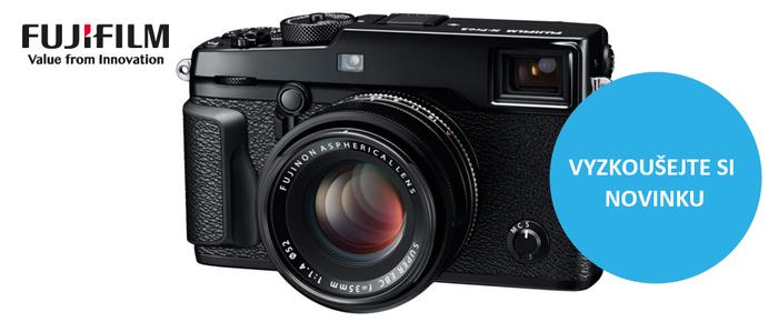 Přijďte si vyzkoušet novinku Fujifilm FinePix X-Pro2