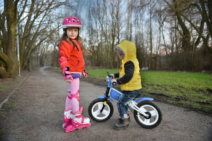 Fotografujeme děti v exteriéru (2. část)