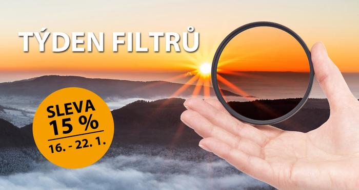 Týden filtrů: 15 % sleva a akce na prodejnách