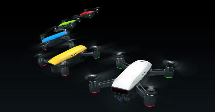 DJI Spark je dostupný mini dron, který vzlétne z dlaně