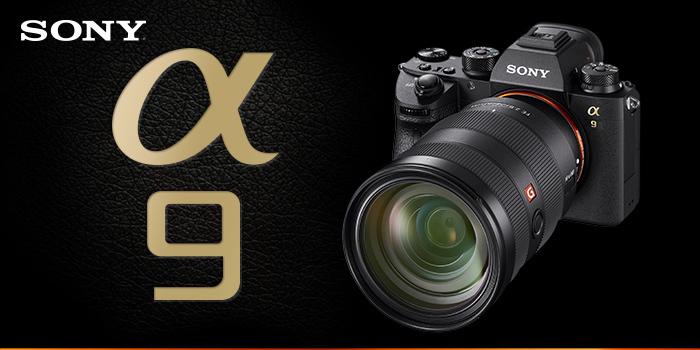 Rozdáváme dárky k fotoaparátu Sony Alpha A9 v hodnotě až 13 380 Kč
