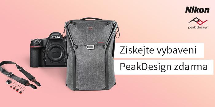 Využijte jedinečné akce k fotoaparátům Nikon a získejte dárky od značky Peak Design