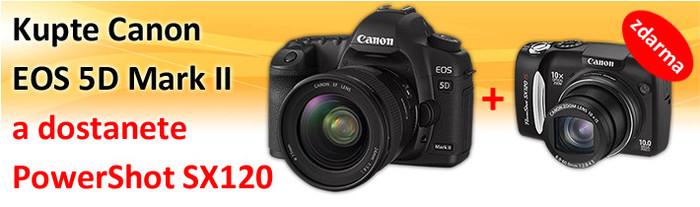 Ke každému Canon EOS 5D ještě SX120 ZDARMA!