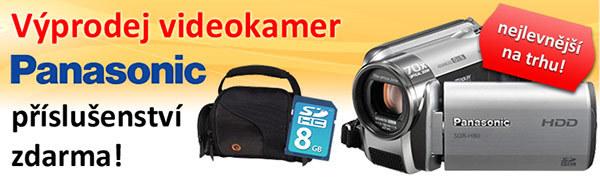 Výprodej videokamer Panasonic!