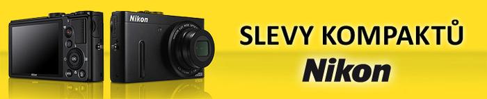 Slevy kompaktů Nikon