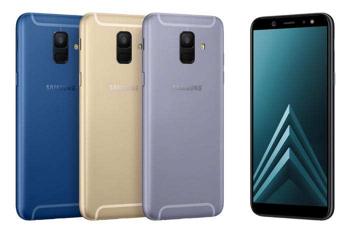 Představujeme nové smartphony Samsung Galaxy A6 a A6+ s nadupaným fotoaparátem