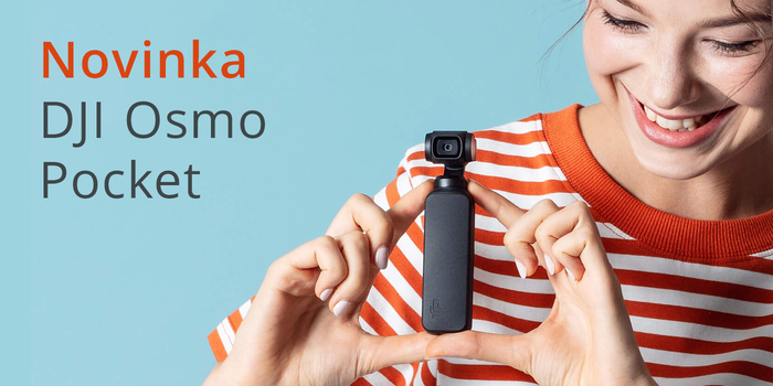 DJI Osmo Pocket je tu!