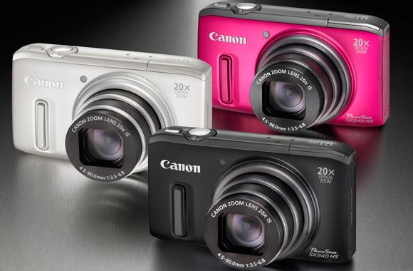 Kompaktní foťáky Canon až o 1 200 Kč levnější