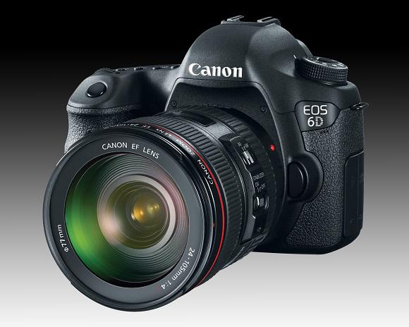 Nový firmware pro Canon EOS 6D