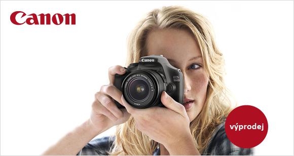 Výprodej zrcadlovek Canon EOS 600D a 1100D
