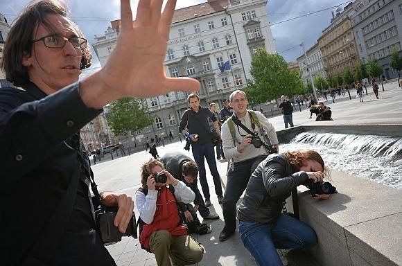 Fotky z Workshopu reportážní fotografie s Nikonem v Brně