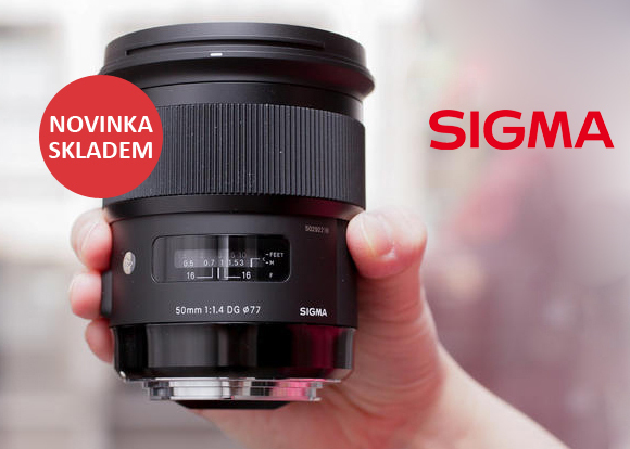 Nový objektiv Sigma 50mm ART skladem