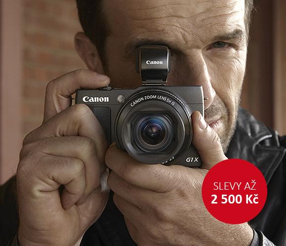 Sleva až 2 500 Kč na kompakty Canon
