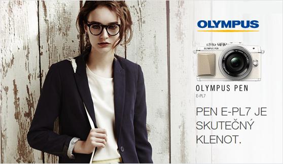 Novinka Olympus E-PL7 skladem