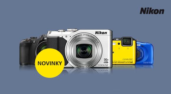Nikon představil sedm nových kompaktů