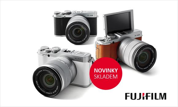 Novinky Fujifilm máme skladem
