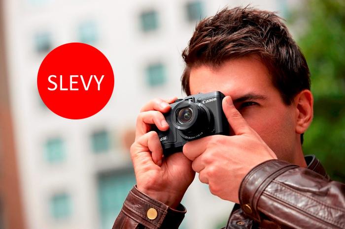 Využijte slevy fotoaparátů Canon, Lytro a Mamiya