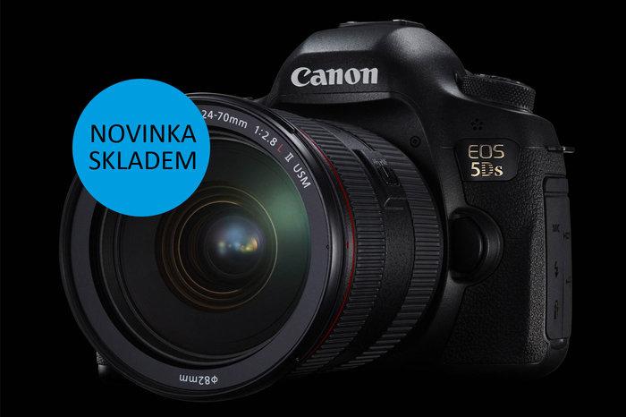 Očekávaný Canon EOS 5DS je již skladem