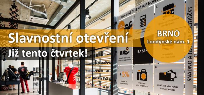 Již tento čtvrtek! Slavnostní otevření prodejny v Brně a řada  workshopů zdarma
