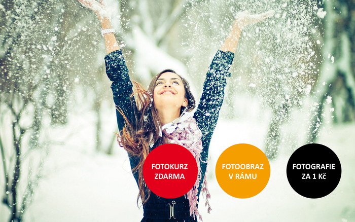Fotografické Vánoce: fotokurz zdarma, fotoobraz v rámu  a 20ks fotografií za 1 Kč