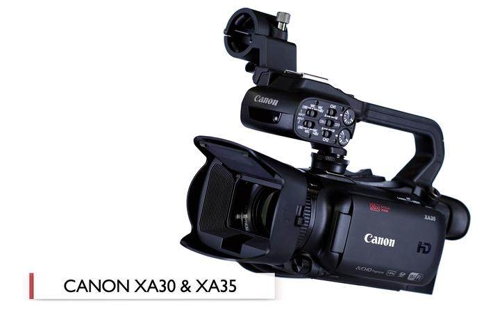 Canon představuje XA35 a XA30 – mimořádný obrazový výkon v provedení vhodném do ruky