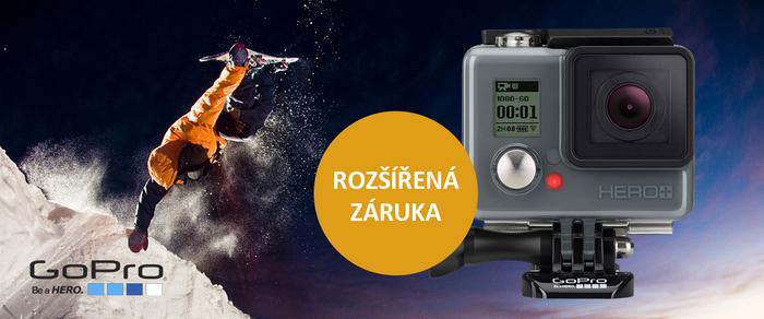 Získejte rozšířenou záruku při nákupu kamer GoPro do 31. 12.