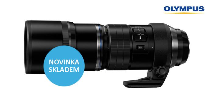 Nový teleobjektiv Olympus M.ZUIKO ED 300mm f/4 IS je již skladem