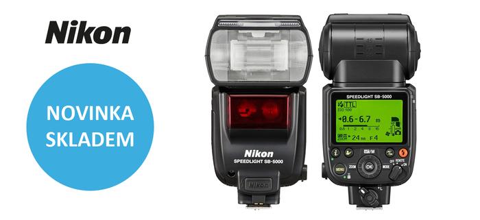 Nový blesk Nikon SB-5000 je ode dneška skladem