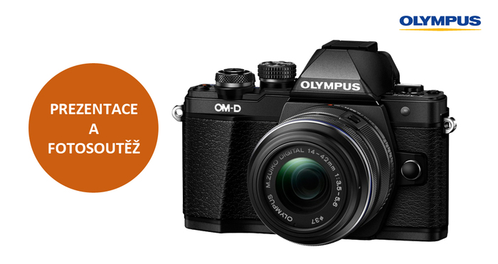 Přijďte si vyzkoušet fototechniku Olympus a vyhrajte OM-D E-M10 Mark II