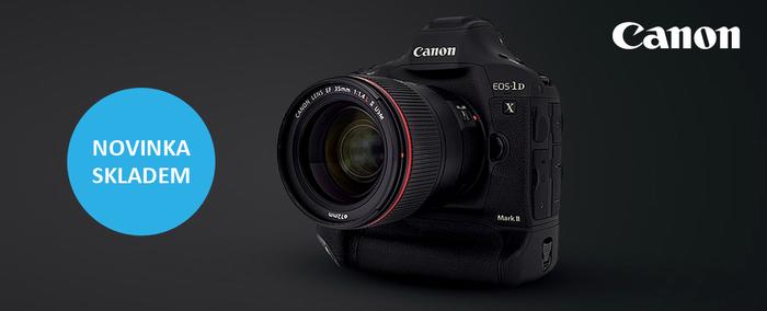 Profesionální Canon 1D X Mark II je ode dneška skladem